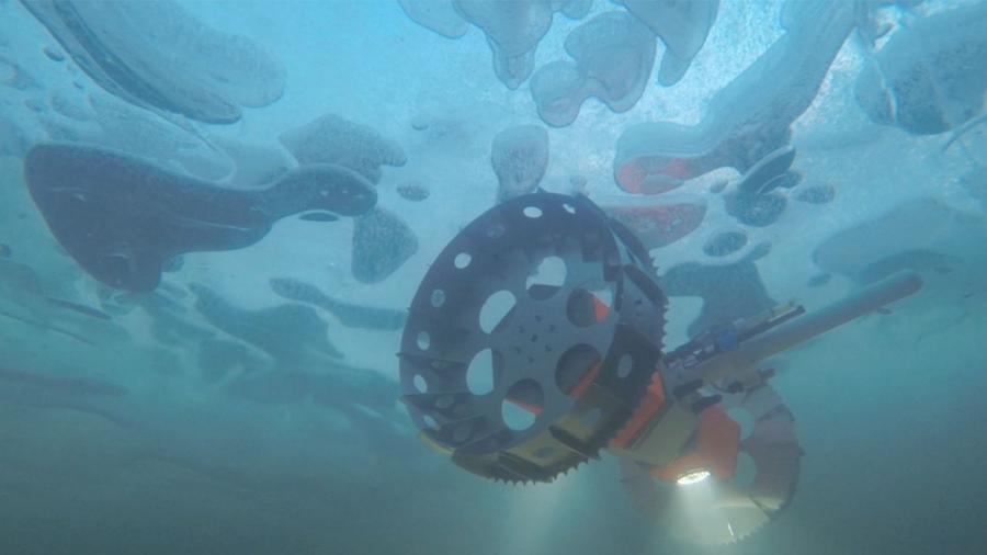 Robô da Nasa irá procurar por vida em oceanos abaixo do gelo - Divulgação/JPL/Nasa