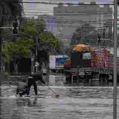 Chuva em São Paulo será cada vez mais intensa  - Eduardo Anizelli / Folhapress