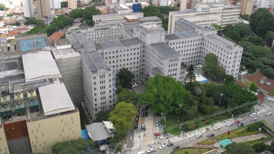 Vista aérea do Hospital das Clínicas de São Paulo - Divulgação
