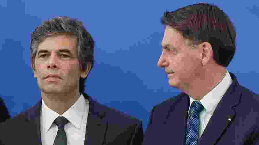 O presidente Jair Bolsonaro e o ministro da Saúde, Nelson Teich - DIDA SAMPAIO/ESTADÃO CONTEÚDO