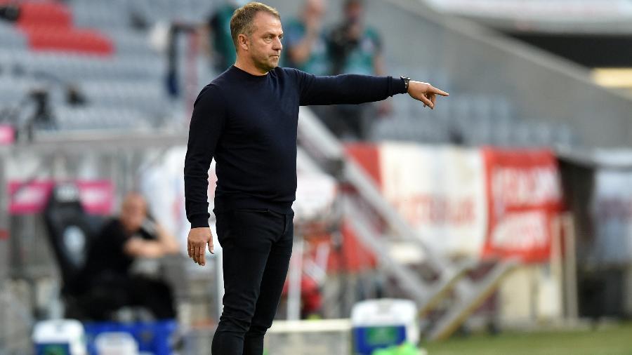 Técnico do Bayern de Munique, Hansi Flick, pode ser o novo comandante da seleção alemã - POOL New