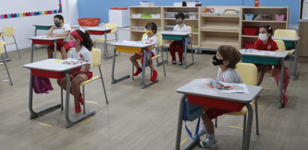 Coronavírus e educação   Grupo de pediatras do Einstein consideram seguro escola infantil abrir na pandemia