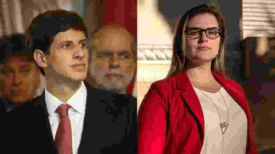 Os deputados federais João Campos (PSB) e Marília Arraes (PT), herdeiros políticos de Miguel Arraes, se enfrentam na disputa no Recife - Arte/UOL