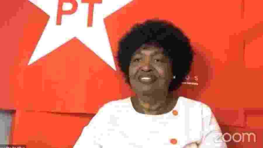 Benedita da Silva, candidata à Prefeitura do Rio pelo PT - Reprodução/internet