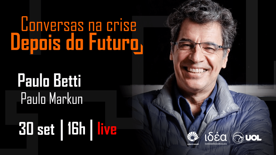 Paulo Betti no Conversas na Crise (30/10/20) - Arte/IdEA-Unicamp