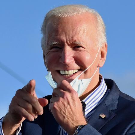Democrata Joe Biden, novo presidente dos Estados Unidos - Angela Weiss/AFP