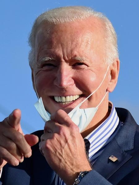 O democrata Joe Biden, candidato à presidência dos Estados Unidos em 2020 - Angela Weiss/AFP
