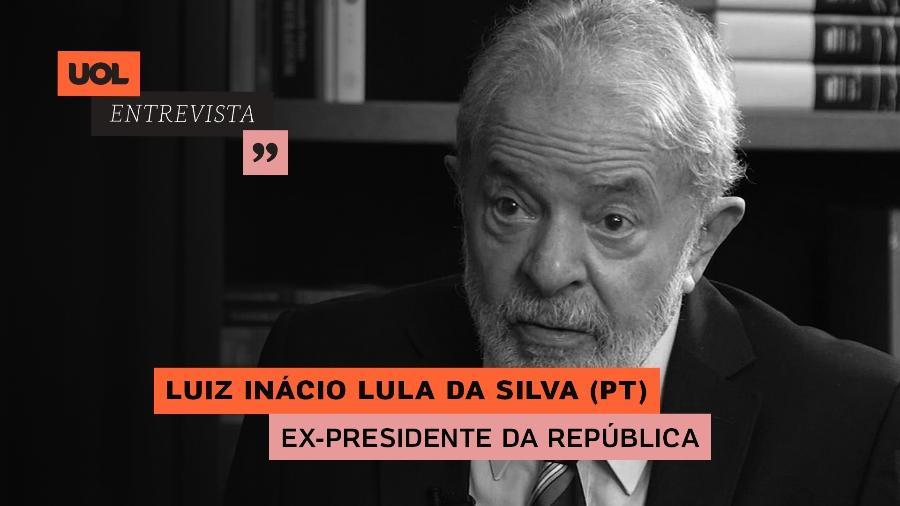 UOL Entrevista com Luiz Inácio Lula da Silva (18/02/20) - Arte/UOL
