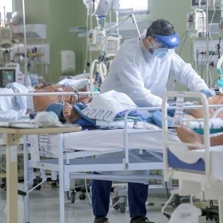 UTI do Hospital Regional do Norte, em Sobral - Tatiana Fortes/Governo do Ceará