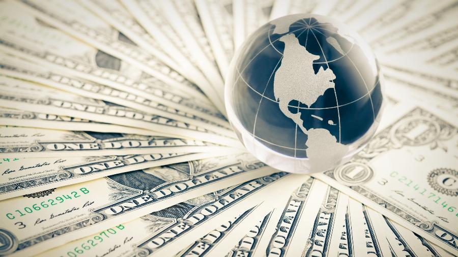 O valor do dólar hoje representa uma queda de 0,22% na variação diária da moeda - Getty Images