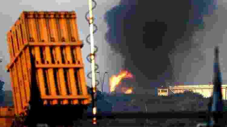 Unidades móveis e estáticas identificam mísseis que podem cair em áreas urbanas e derrubá-los no ar - JACK GUEZ / GETTY - JACK GUEZ / GETTY