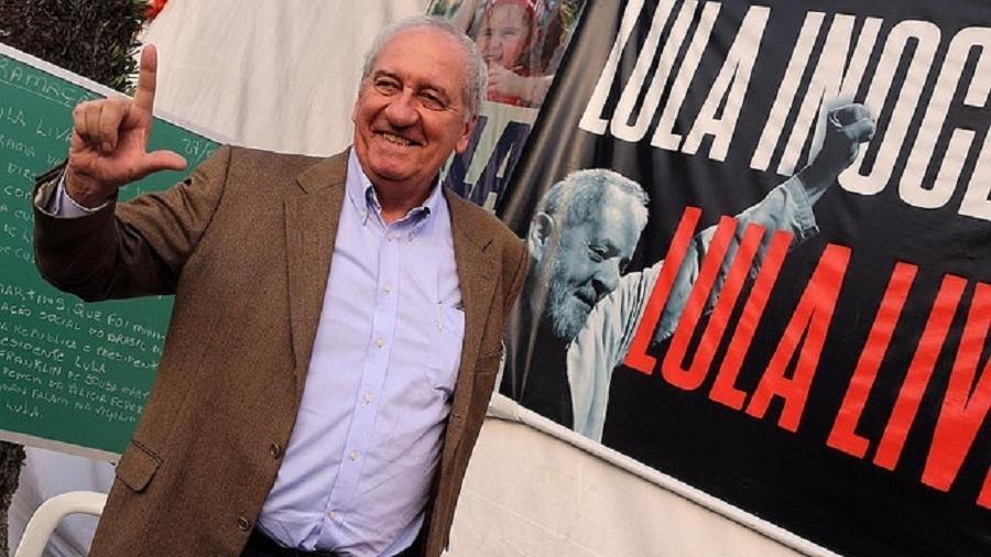 O jornalista e ex-ministro Franklin Martins foi contratado pelo PT para atuar na pré-campanha do ex-presidente Lula - Reprodução/Site/PT
