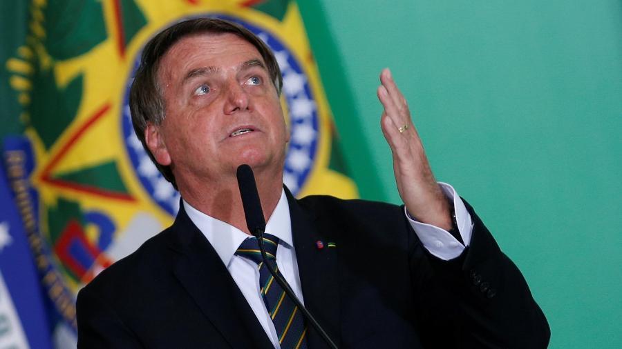 Depois de seu filho Flávio, Bolsonaro negocia a entrada no Patriota para disputar a reeleição em 2022 - Adriano Machado/Reuters