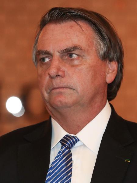 Jair Bolsonaro: presidente demonstrou abatimento pela primeira vez diante dos números mostrando vantagem de Lula - Isac Nóbrega/PR