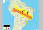 Inmet faz alerta de 'perigo de chuvas intensas' para 8 estados e DF