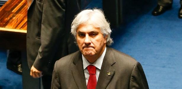 O senador Delcídio do Amaral, que teve delação homologada pelo STF
