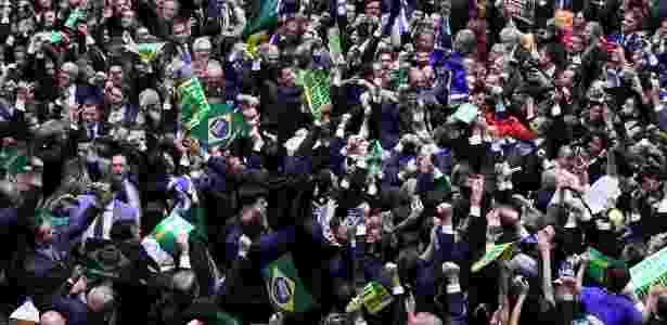 Impeachment Câmara - Antonio Augusto/Câmara dos Deputados/17.abr.2016 - Antonio Augusto/Câmara dos Deputados/17.abr.2016