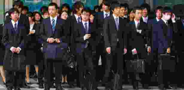 Executivos japoneses  - Getty Images - Getty Images