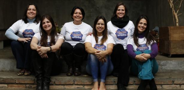 As diretoras da ONG Ciranda para o Amanhã, que ajuda 19 abrigos na região oeste da cidade de São Paulo e atende 350 crianças. A ONG começou em dezembro de 2015 com um grupo de nove mães cujos filhos são alunos de uma mesma escola particular, na região da Lapa (zona oeste de SP). O grupo cresceu e hoje conta com 600 voluntárias