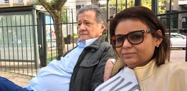 O casal Francisco e Ana Paula, moradores do Bigorrilho, em Curitiba