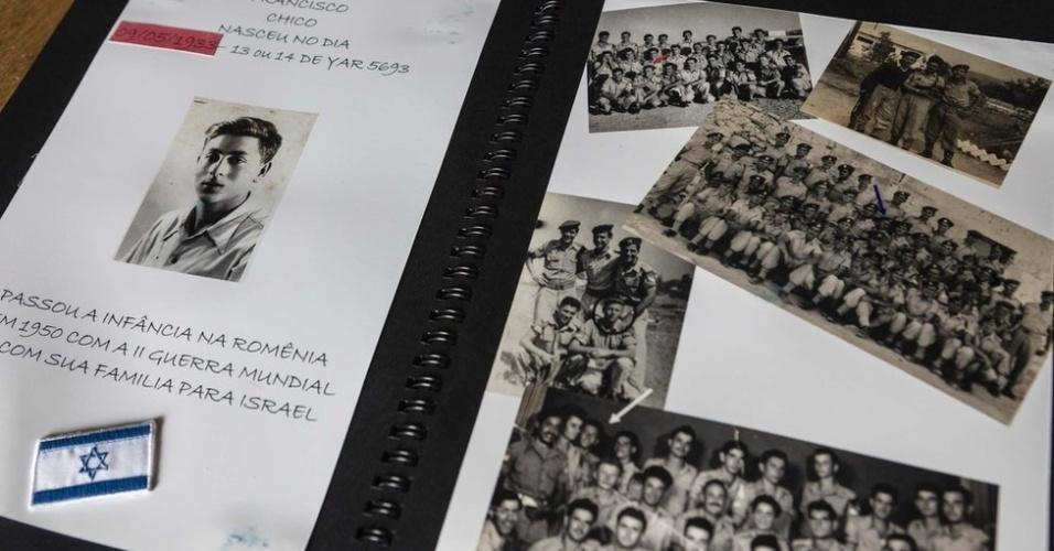 27.jan.2018 - Após ditadura comunista na Romênia, a família emigrou para Israel, em 1950