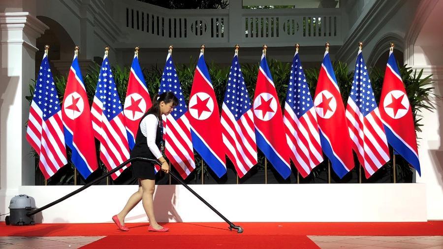 """Representante especial dos Estados Unidos para a Coreia do Norte, Sung Kim, ofereceu nesta segunda-feira (21) ao isolado governo comunista um encontro """"em qualquer lugar e a qualquer hora, sem condições prévias"""" - Jonathan Ernst/Reuters"""