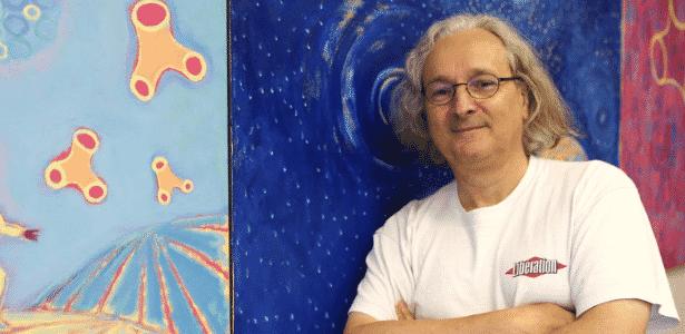 O matemático francês, Etienne Ghys, durante sessão de fotos na sede do IMPA (Instituto de Matemática Pura e Aplicada) - Fabio Motta/Estadão Conteúdo
