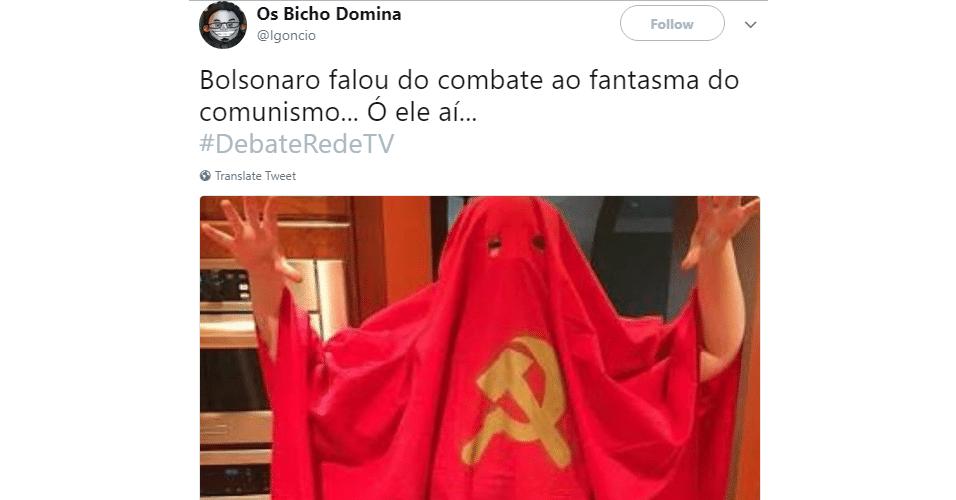 Meme fantasma do comunismo debate da RedeTV!