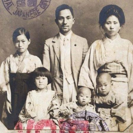 A família Mizobe chegou ao Brasil em 1927 - Arquivo pessoal