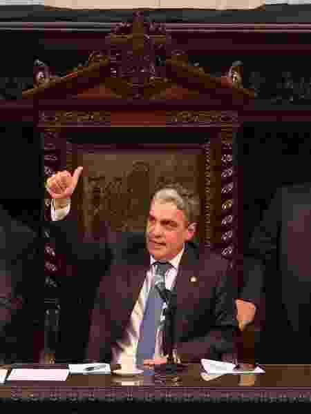 01.fev.2019 - André Ceciliano, presidente da Alerj - ALEXANDRE BRUM/AGÊNCIA O DIA/ESTADÃO CONTEÚDO