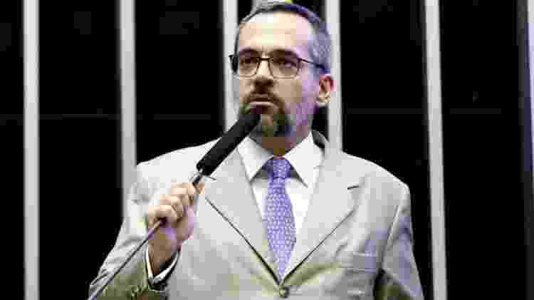 Abraham Weintraub em convocação na Câmara nesta terça; ministro afirmou que foco do governo será educação básica e infantil - Luis Macedo/Câmara dos Deputados