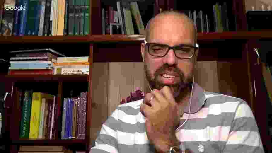 Canal do blogueiro Allan dos Santos foi um dos que recebeu publicidade da Secom, segundo o jornal - Reprodução/Youtube
