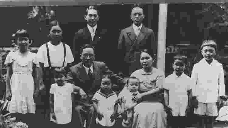 A época em que o imperador japonês era mais venerado no Brasil do que no Japão - Museu da Imigração de São Paulo via BBC
