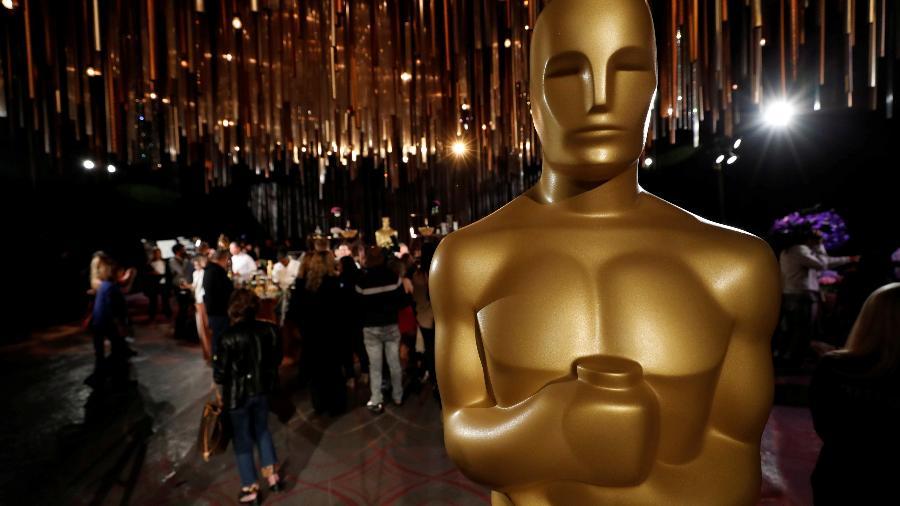 Estatueta do Oscar, em Los Angeles: cerimônia modificada em 2021 -