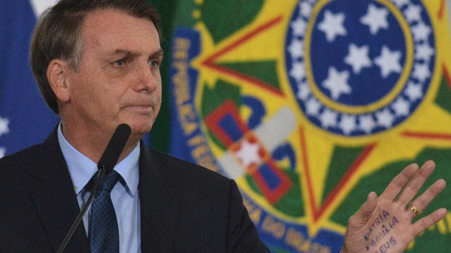 Declaração foi uma resposta de Bolsonaro a uma apoiadora, que questionou se a Eletrobras será privatizada - Renato Costa/Framephoto/Estadão Conteúdo