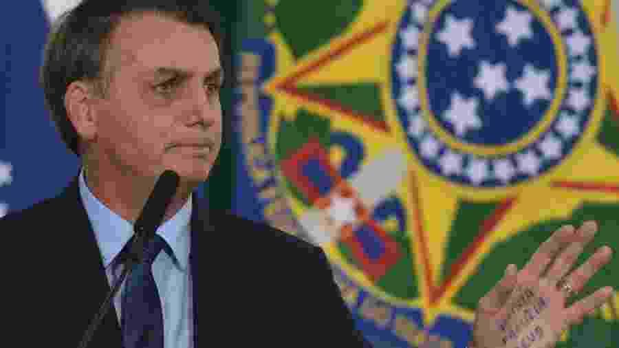 Aplaudido por plateia, presidente ainda demonstrou orgulho por ter interrompido a demarcação de terras indígenas e quilombos - Renato Costa/Framephoto/Estadão Conteúdo