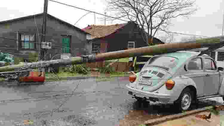 Formação de ciclones intertropicais ocorrem do encontro de duas massas: uma de ar quente e outra de ar frio - São Joaquim Online/Fotos Públicas - São Joaquim Online/Fotos Públicas