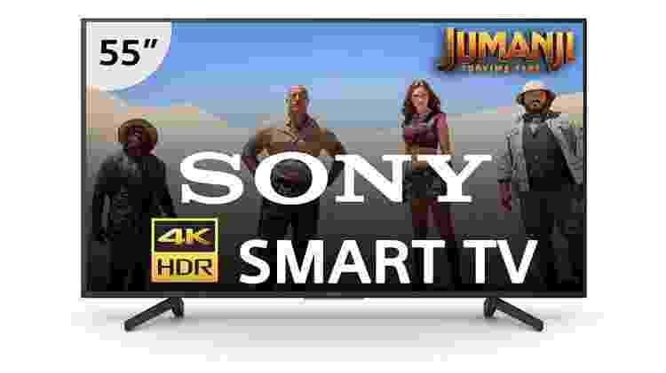 """Smart TV LED 55"""" 4K Ultra HD Sony - Divulgação - Divulgação"""