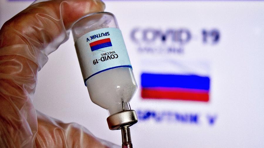 Sputnik V, vacina contra a covid-19 desenvolvida pelo Instituto Gamaleya, na Rússia - Adriana Toffetti/A7 Press/Estadão Conteúdo