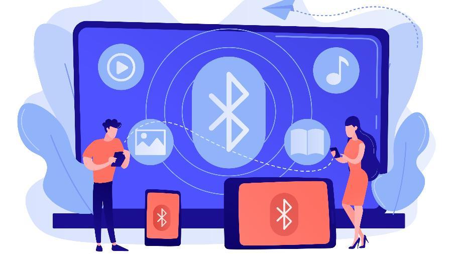 Conexão via Bluetooth  - Reprodução/Vectorjuice