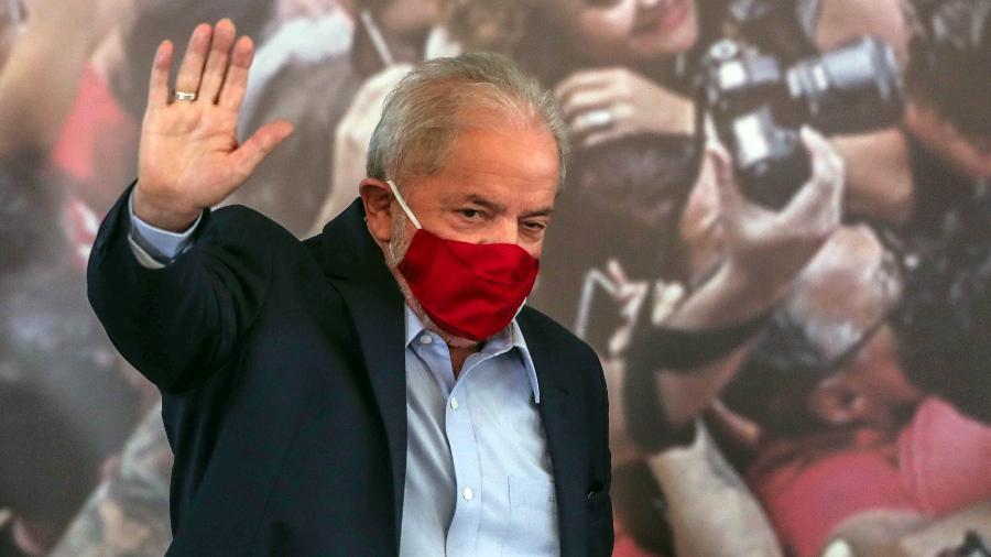 STF julga anulação de condenações do ex-presidente Luiz Inácio Lula da Silva  - Wether Santana/Estadão Conteúdo