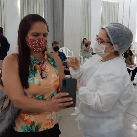 Vacinação em São José do Rio Preto (SP): professores da educação especial dizem que são barrados na fila - Divulgação/Prefeitura de Rio Preto