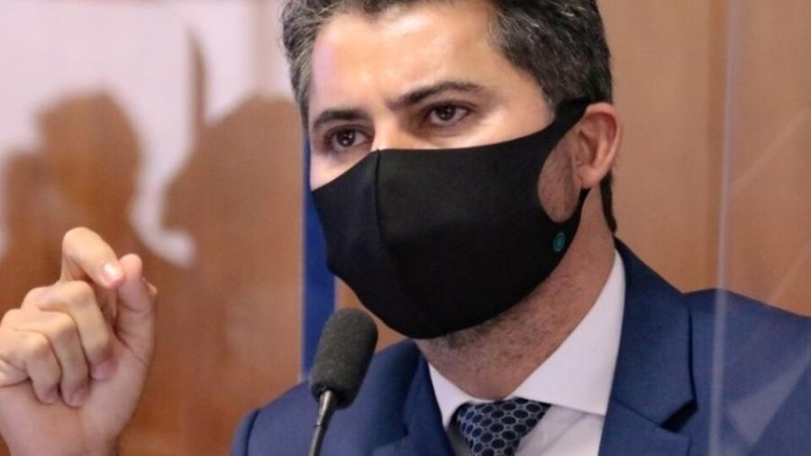 20.mai.2021 - O senador governista Marcos Rogério (DEM-RO) é relator da Medida Provisória da Eletrobras - Reprodução / Instagram