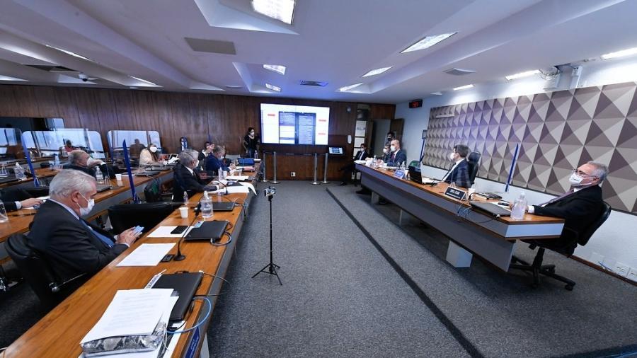 """CPI também não poderá adotar """"quaisquer medidas restritivas de direitos"""", segundo determinou Barroso - Edilson Rodrigues/Agência Senado"""