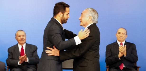 """Gravar conversa com presidente é indigno"", disse Temer sobre Marcelo Calero"