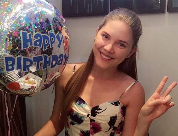 A modelo brasileira Lilliana Matte, 17, que também está detida no abrigo de Chicago