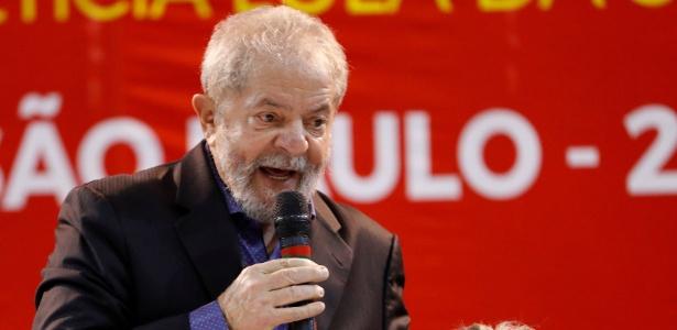 Lula discursa durante Congresso do PT, em São Paulo