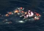 Bote com migrantes pega fogo a caminho da Europa - BBC