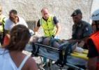 Itália resgata duas crianças dos escombros após terremoto na ilha de Ischia - Eliano Imperato/ AFP