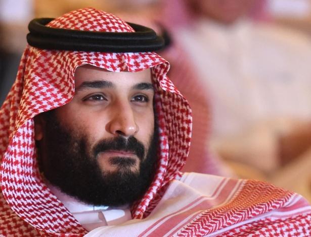 O príncipe herdeiro saudita Mohammed bin Salman